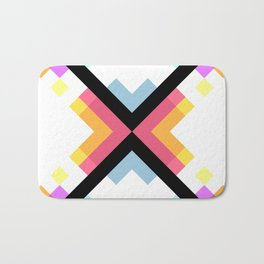 Abstract Retro Pattern 05 Bath Mat