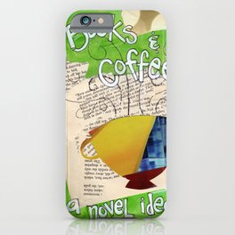 Books and Coffee iPhone Case