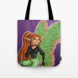 Jane Florence (Dragon Queen) Tote Bag
