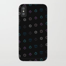 Dungeons and Dragons Aesthetic Dice iPhone Case