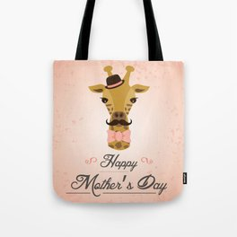 Happy Mother's Day ~ Giraffe Tote Bag