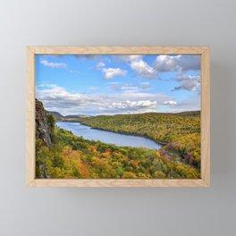 """""""Lake of the Clouds"""" Framed Mini Art Print"""