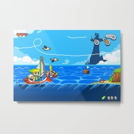 The Legend of Zelda: Wind Waker Advance Metal Print