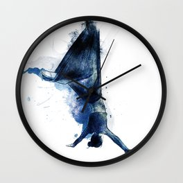flying colors 03 // midnight edition Wall Clock