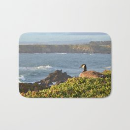 nest with a view Bath Mat