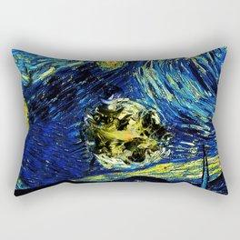 cheshire starry night   Rectangular Pillow