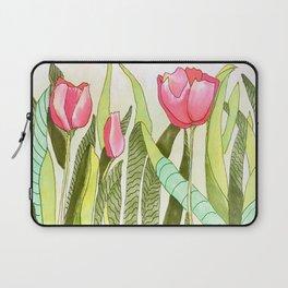 Dancing Tulips Laptop Sleeve