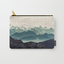 Shades of Mountain Carry-All Pouch