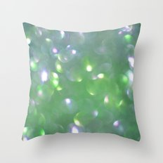 Glitter Bubbling Throw Pillow