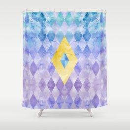 Fi Geometry Shower Curtain