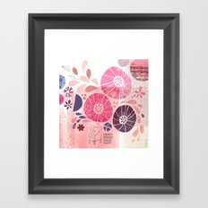 I Am Going To Daydream Today Framed Art Print