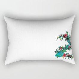 New Zealand Map Rectangular Pillow