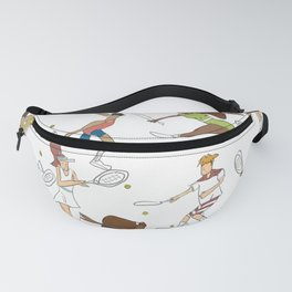 Tennis in color Fanny Pack