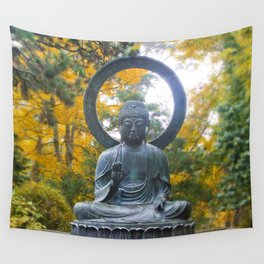 Buddha Meditating Wall Tapestry
