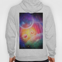 Abstract in perfection 113 - Space and time Hoody