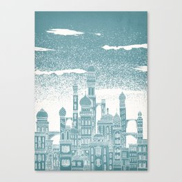 Neptune Celestial City Canvas Print