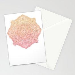 Afternoon Mandala Stationery Cards