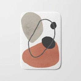 contemporary rocks Bath Mat