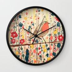 je ne suis pas qu'un oiseau Wall Clock