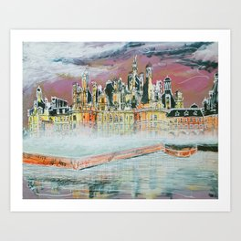 Chambord Fog Art Print