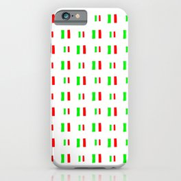 Flag of Italy - Handmade iPhone Case
