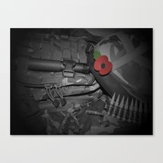 Poppy of Rememberance Canvas Print