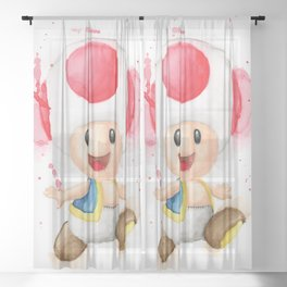 Toad Sheer Curtain