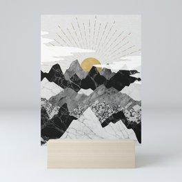 Sun rise Mini Art Print