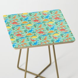 Dinos Green Side Table
