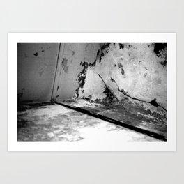 Forgotten corner Art Print