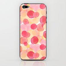 Watercolor Circles Two iPhone & iPod Skin