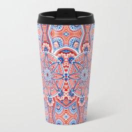 Seamless mandala Travel Mug