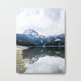 The black lake Metal Print