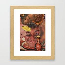 Meat Sweat Framed Art Print