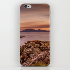 Arran Sunset iPhone & iPod Skin