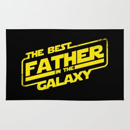 The best father in the galaxy Rug