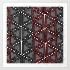 Triagulate Art Print