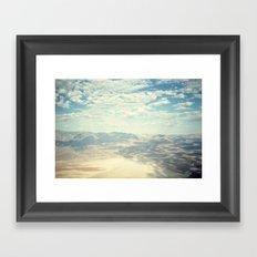 Death Valley Cloud Shadows Framed Art Print