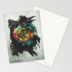 Circle of Life Surreal Study Stationery Cards