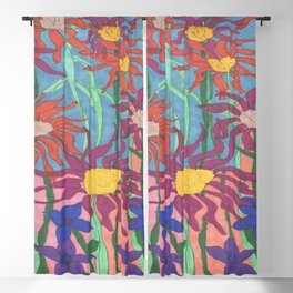 Lush Garden Blackout Curtain