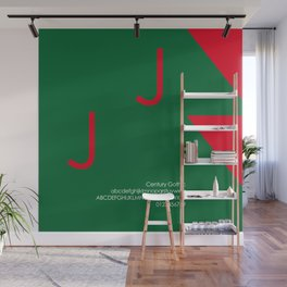 CANDY CANE - FontLove - CHRISTMAS EDITION Wall Mural