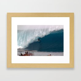 Hawaii's Reef Mcintosh C L O U D B R E A K  2012 Framed Art Print