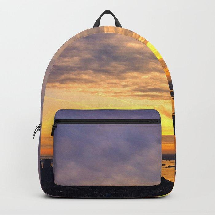 New York skyline Backpack