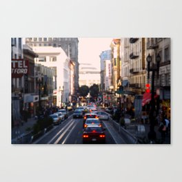 City Center Canvas Print