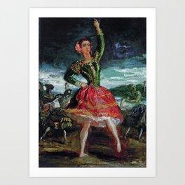 Theodore Chasseriau La Petra Camara 1854 Art Print