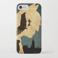 bat man iPhone & iPod Cases featuring BAT MAN  by Edmond Lim