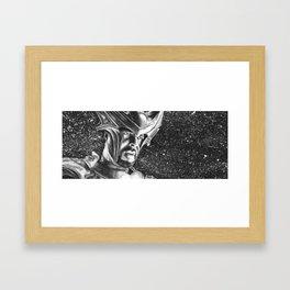 He Sees All Framed Art Print