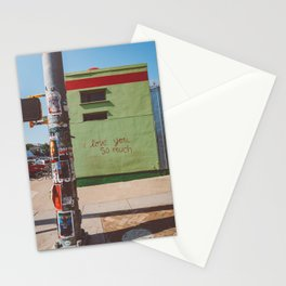I Love You So Much Austin Stationery Cards
