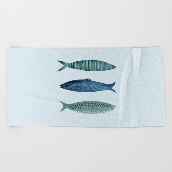fish in Beach Towel