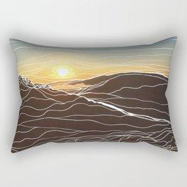 Sunrise Goat Rock 1 Rectangular Pillow